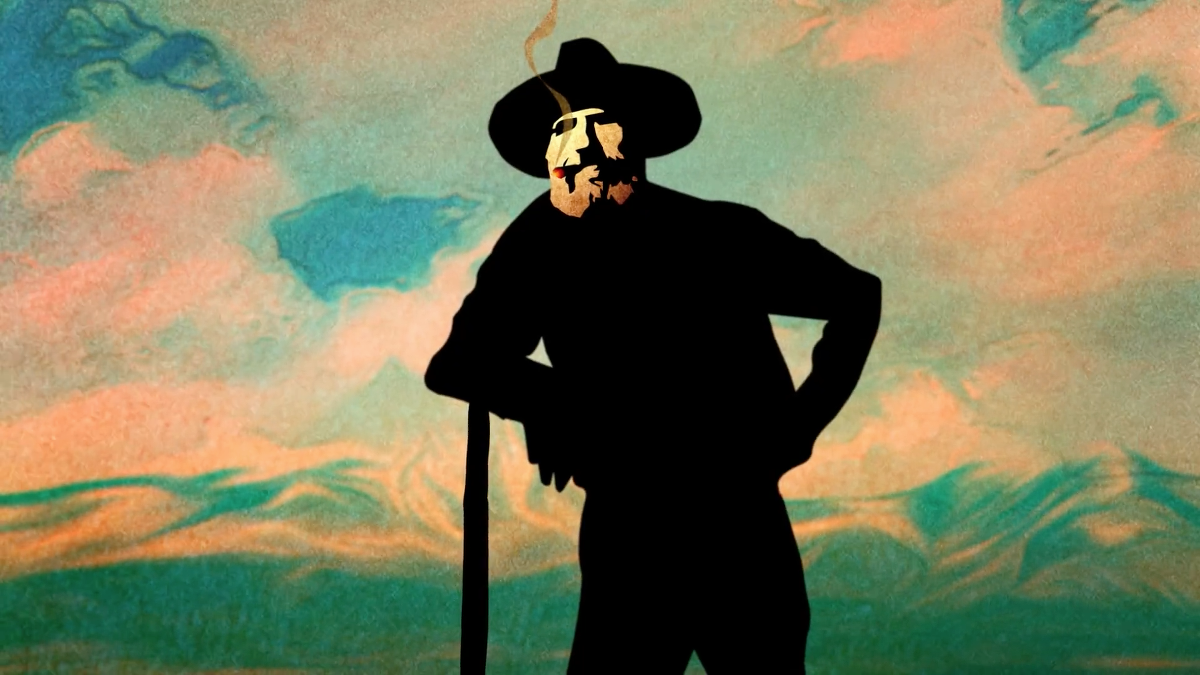 Edward Abbey Animation Still Frame