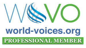 World Voices Pro Member Badge